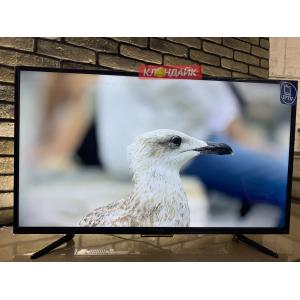 Телевизор Yuno ULX-39TCS221 - 100 сантиметров, полноценный Smart с Wi-Fi, настроен под ключ в Приморском фото