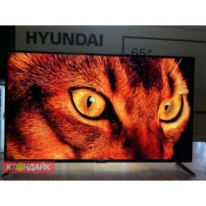 Телевизор Hyundai H-LED 65EU1311 огромная диагональ, 4K Ultra HD, HDR 10, голосовое управление в Приморском фото
